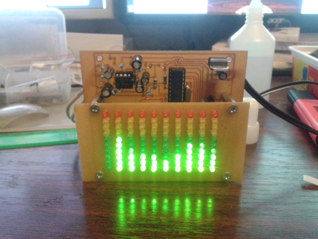 схема анализатор спектра atmega8