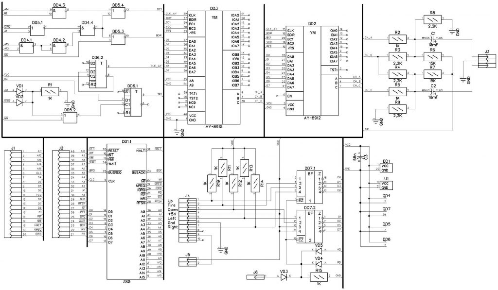 ZX Spectrum (Ленинград) — вперед в прошлое! (часть 4). Музыкальный сопроцессор AY-3-8912