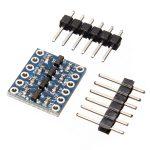 Двунаправленный 4-канальный конвертер логических уровней 5В / 3.3В для Arduino